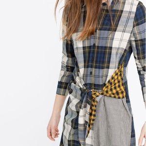 Never Worn. Stunning plaid dress